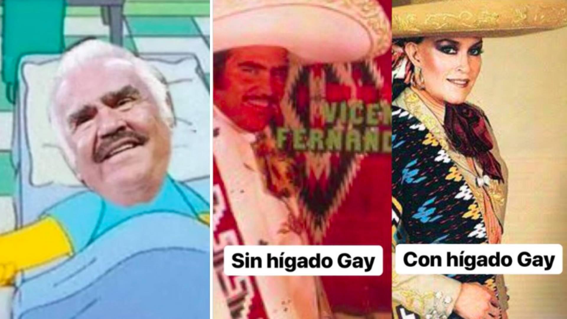 Las redes sociales no le perdonaron a Vicente Fernández sus declaraciones (Foto: Twitter)