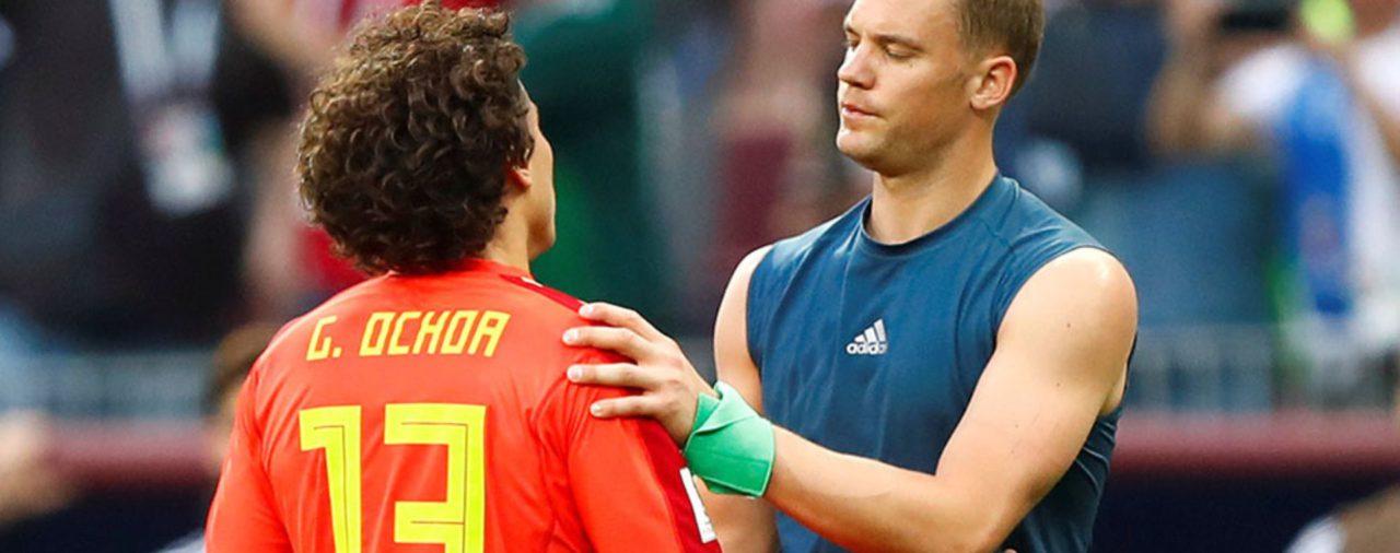 """Los elogios de Manuel Neuer a Guillermo Ochoa: """"En Europa tenemos grandes porteros, pero también él es un gran portero"""""""