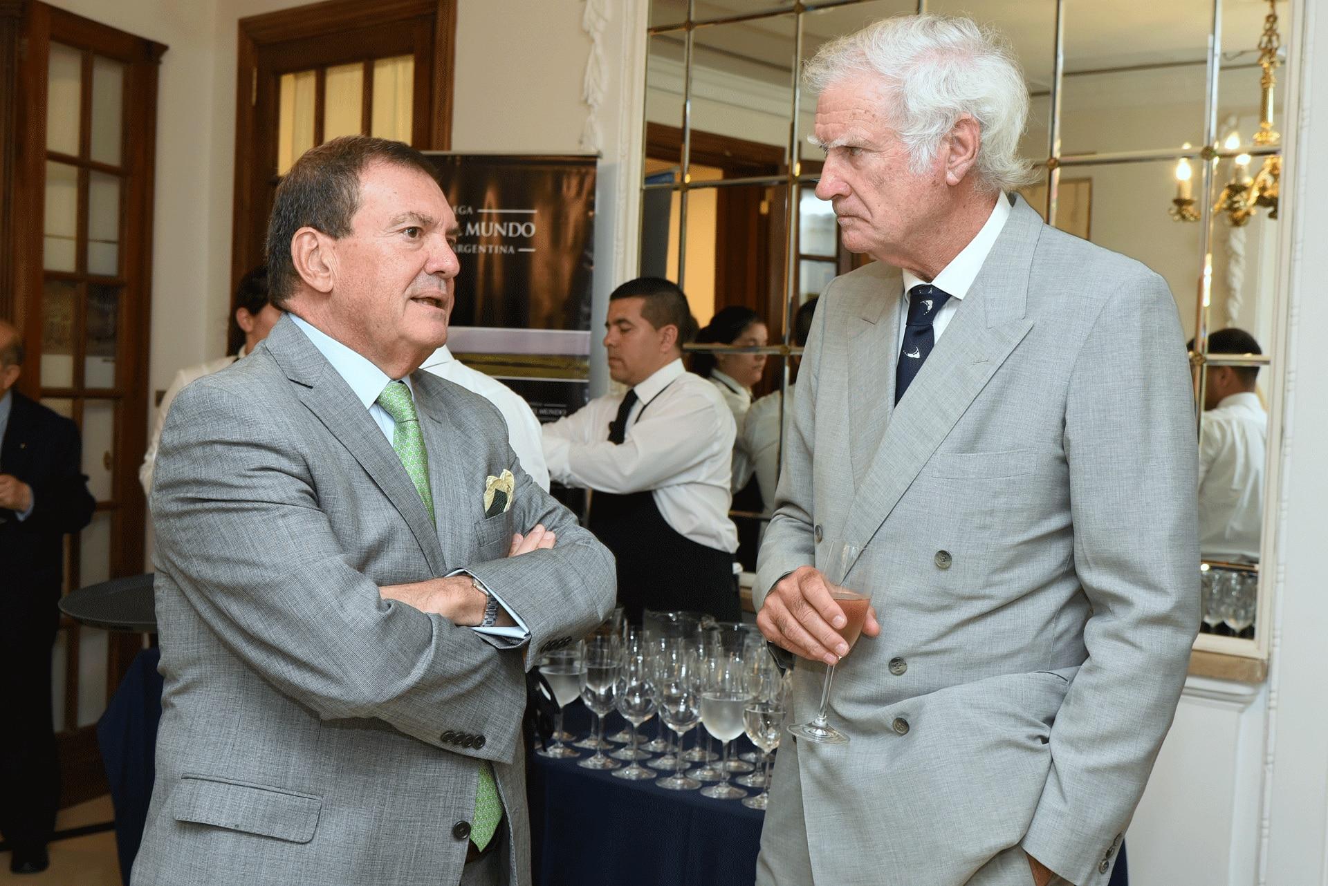 Héctor Masoero y Eduardo Escasany