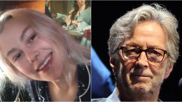 """Quién es Phoebe Bridgers, la cantante que """"odia"""" a Eric Clapton, a quien acusó de racista"""