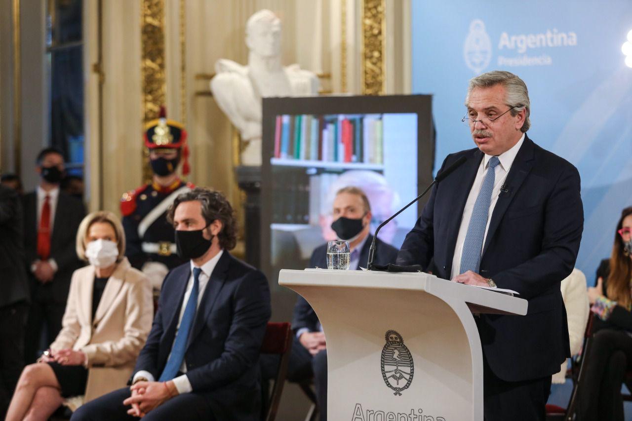 Alberto Fernández - Reforma Judicial