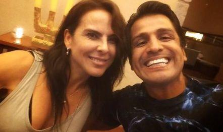 """Gerardo Zamora sobre su encuentro con Kate del Castillo: """"Posee la sencillez que caracteriza a los grandes"""""""